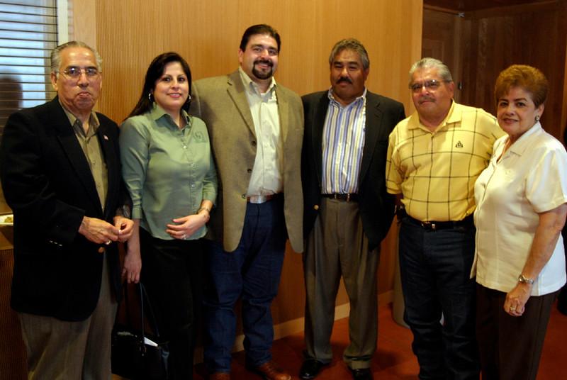 The Trevino Family congratulates new (returning)  board member and past HCADFW Chairman Adam Trevino, Vortex.