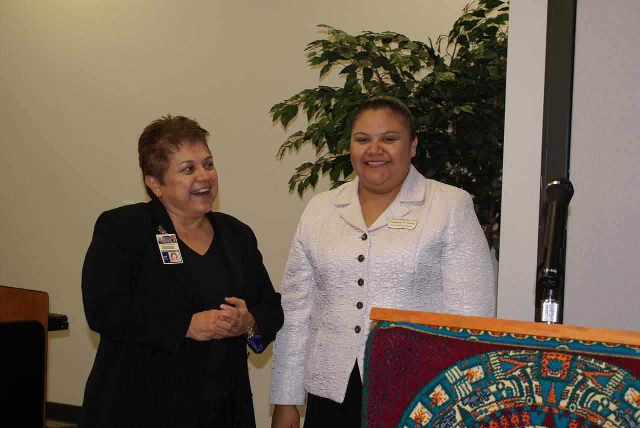Alma Villapando, DCCCD, and Elizabeth Chavez, Ponce Contractors and HCADFW Board Member