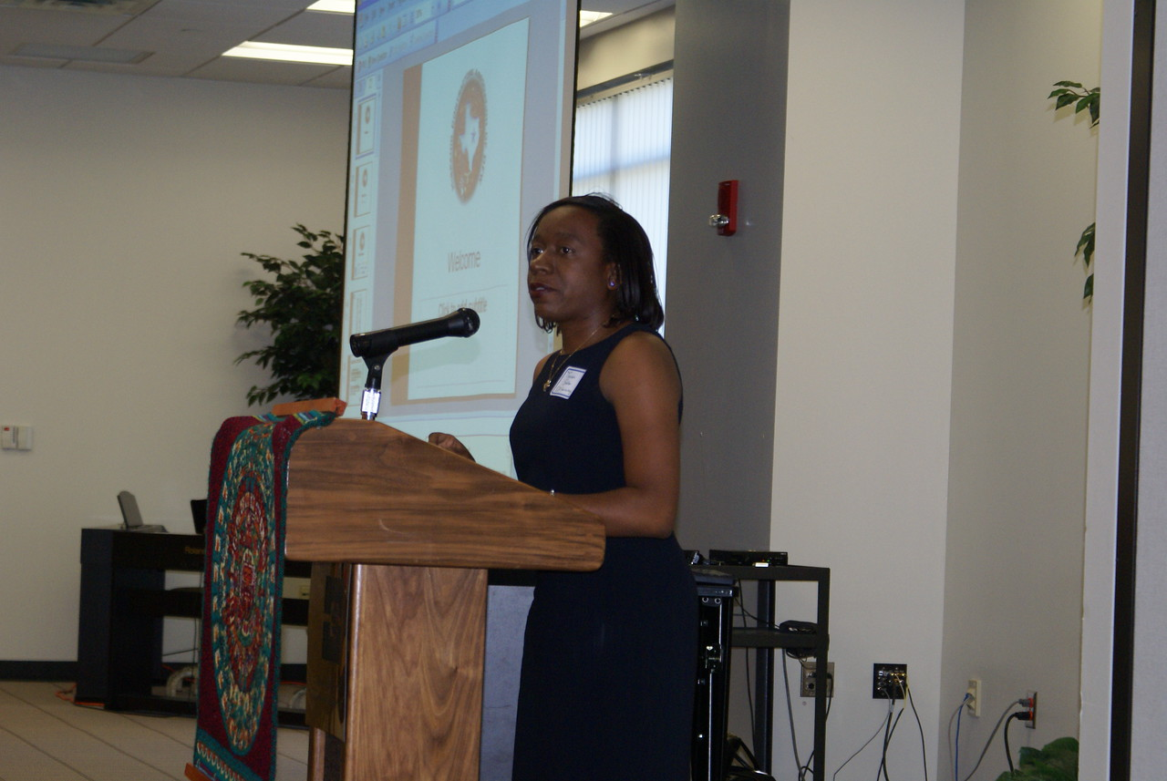 Tameka Sadler with SSP gives an overview on the upcoming Bonding Seminar