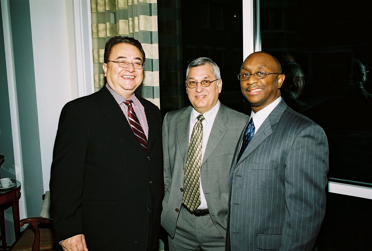 Chris Escobedo, HCADFW Board Chairman; Henry Rosales, City of Dallas and Anthony Coleman, City of Dallas