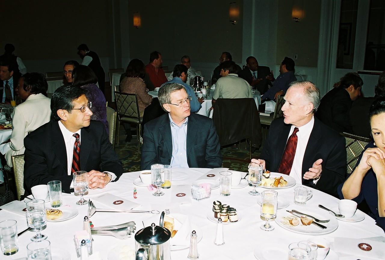 DCCCD:  John Lopez, Steve Park and Steve Mittelstet, President DCCCD Richland College