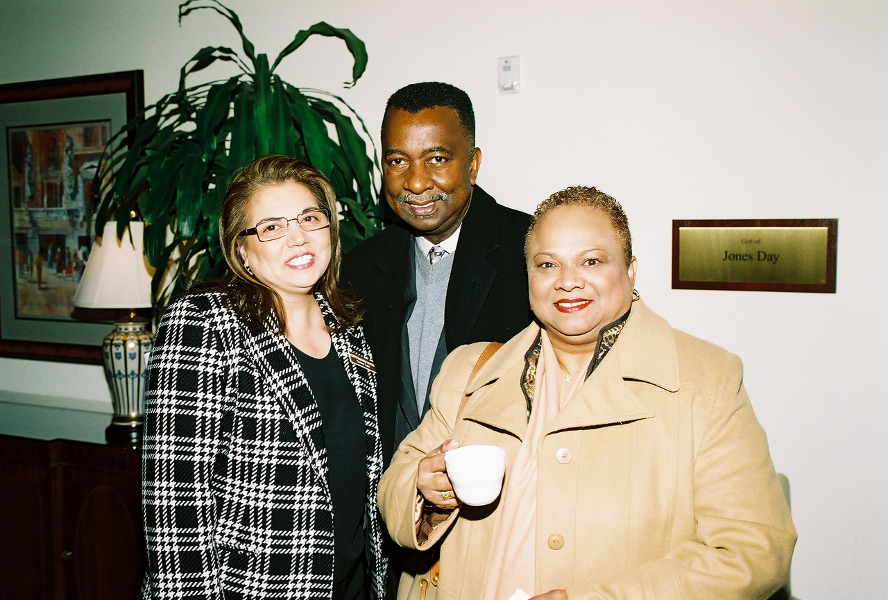 Tommi Lyle, DISD; James Estes, SSP Consulting and Dianne SSP Consulting