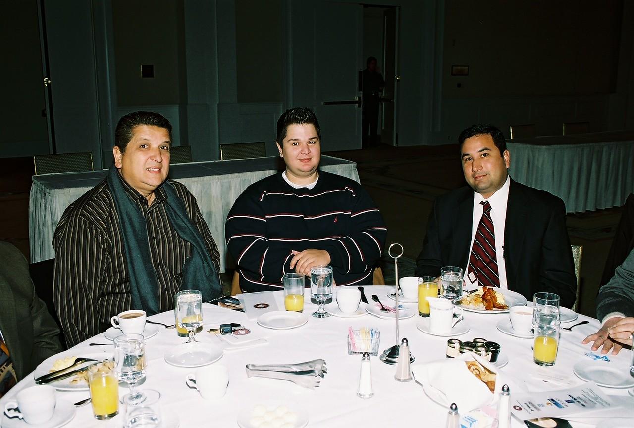 Far Right:  Raymond Martinez, Martinez & Martinez Law Firm, PLLC and guests