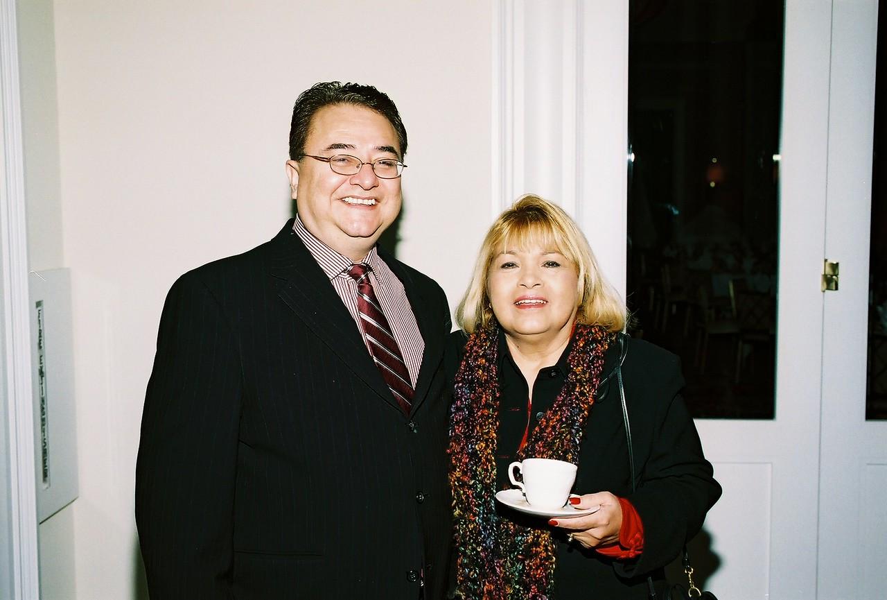 Chris Escobedo, HCADFW Board Chairman and Pat Gorman, Pegasus Texas Construction, LP