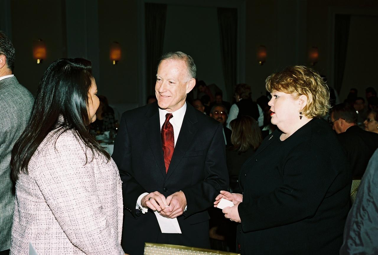 Elizabeth Chavez, HCADFW Board Member; Steve Mittelstet, President DCCCD Richland College and Celes Oppedahl, Associate Dean Workforce Training