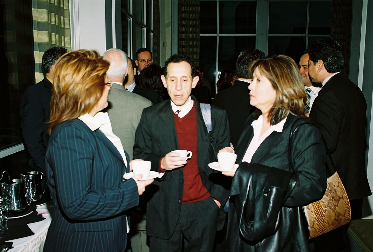 Raymond Cervantes, MBDA and Suzanne Cruz-Sewell, DFW Airport