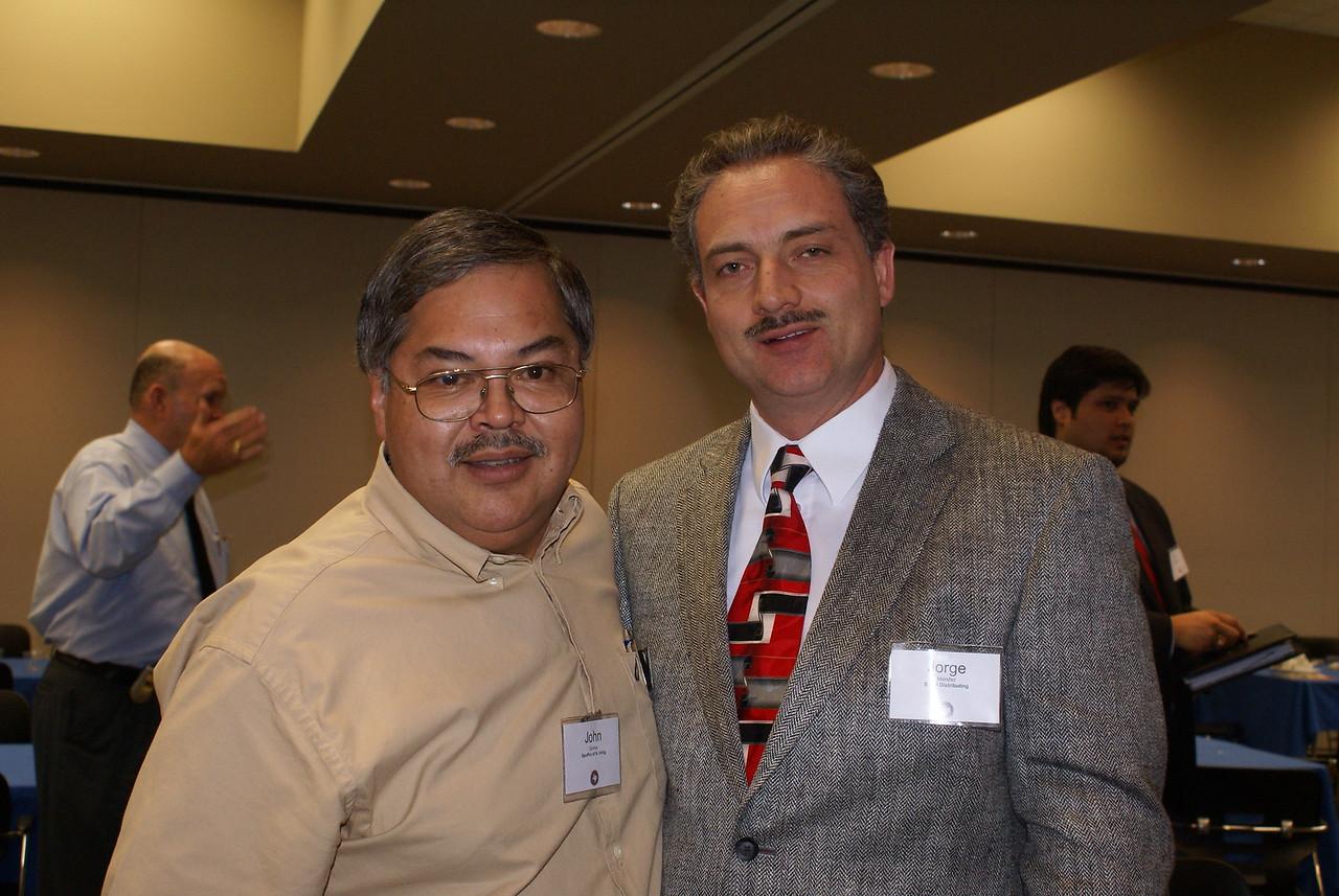 John Gomez, SERVPRO of North Irving and Jorge Mendez, S&H Distribution