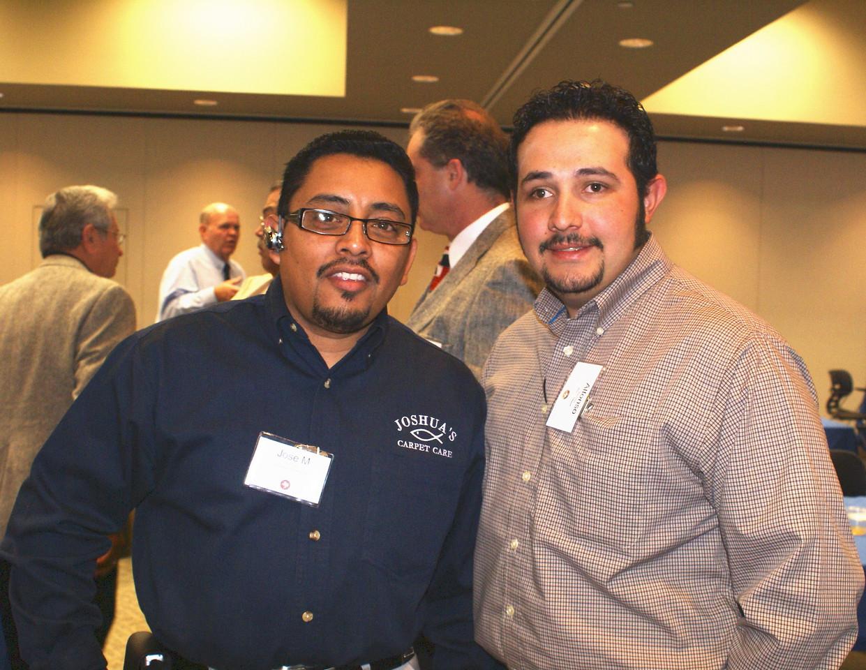 Jose Marquez, Joshua's Carpet Care and Al Ramirez, Home Depot