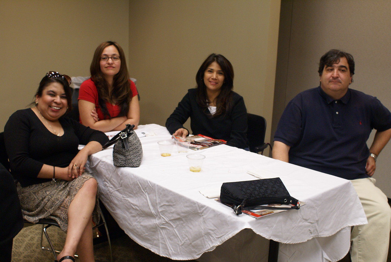 The Phillips/May Team:  Diana Miles, Yesenia Garcia, Diana Sanchez and Omar Seif