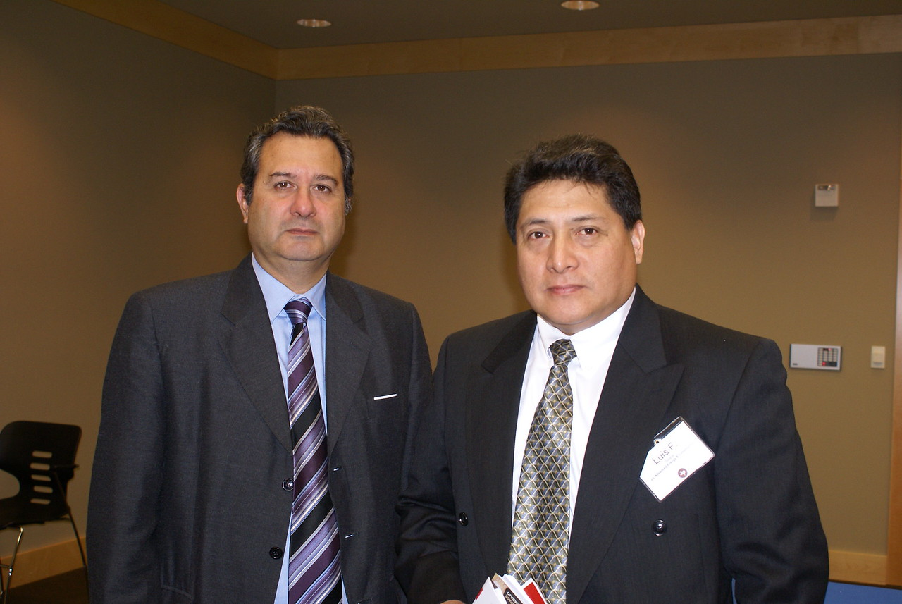 German Rodriguez and Luis Salazar with J L Advanced Energy & Construction