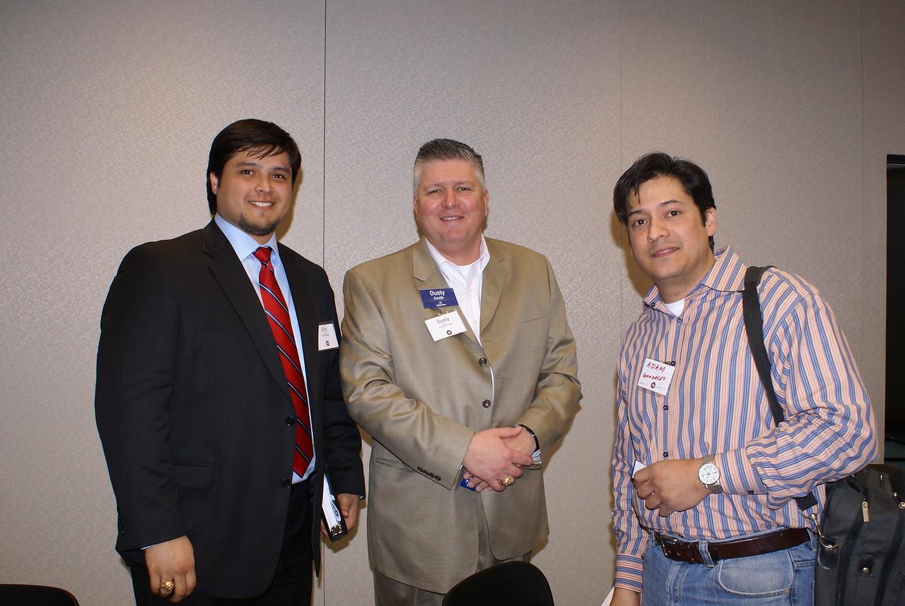 Eric Garcia, STL Engineering, Dusty Smith, JE Dunn of Texas and Adam Gonzalez, Il Granito