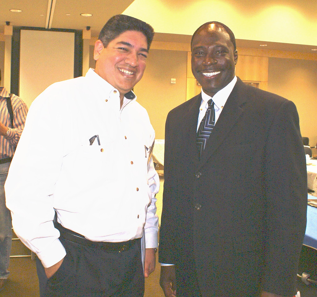 Romeo Collazo, ROC Construction and Eugene Walker, Austin Industries