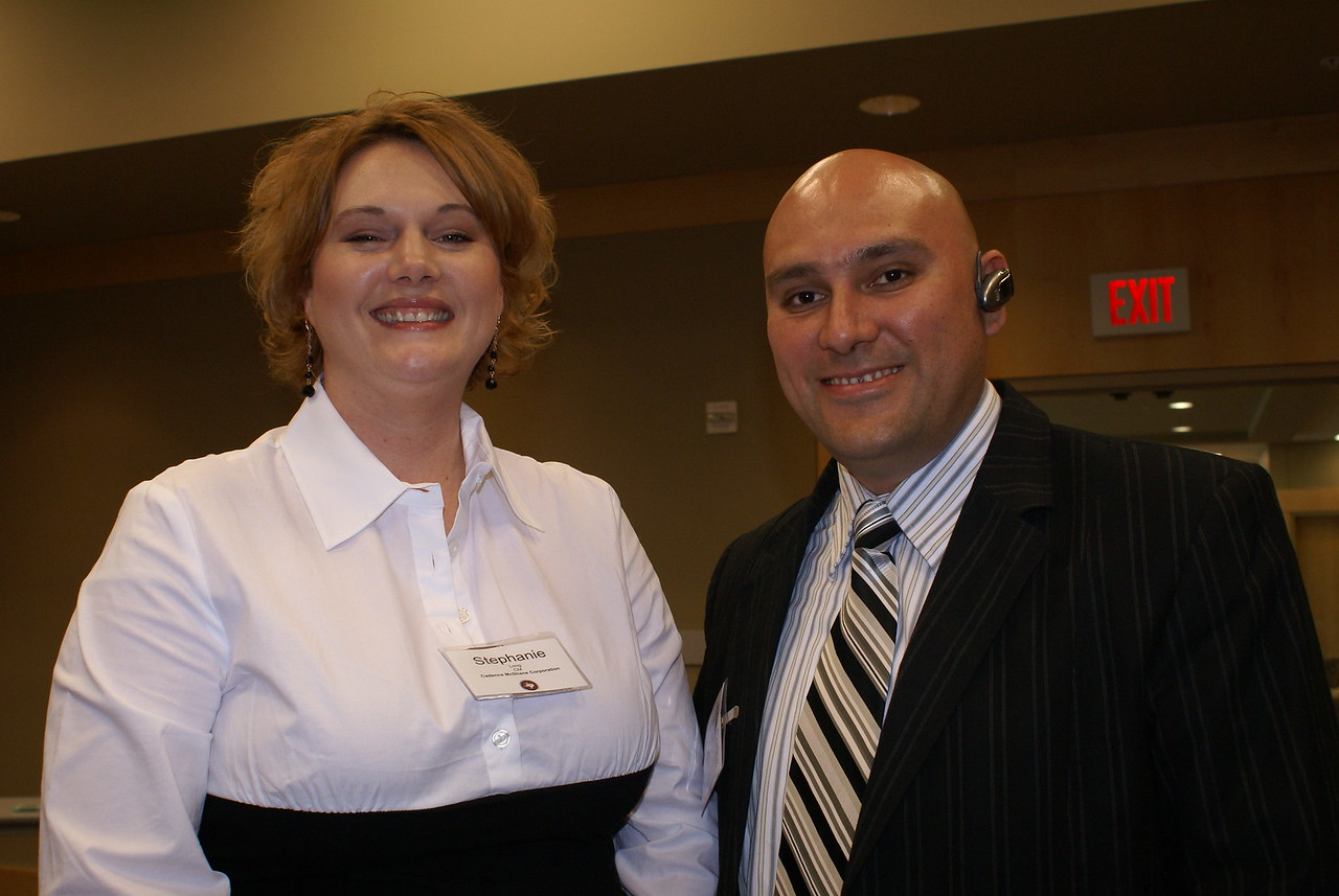 Stephanie Long, Cadence McShane Corporation (DCCCD CM) and Jose Carlos Contreras, JR's Custom Countertops