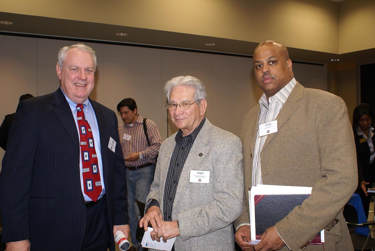 James Starling, Starling Richardson Construction; Hank Lopez, ABLe Communications and HCADFW Board Secretary; and Greg Cody, GCC Enterprises Inc.