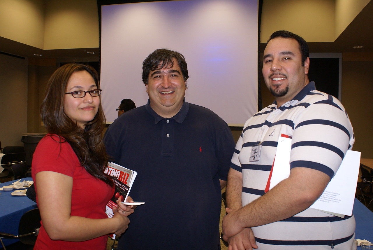 Yesenia Garcia and Omar Seif with Phillips/May, Corp and Sergio Estrada, LoneStar ECS