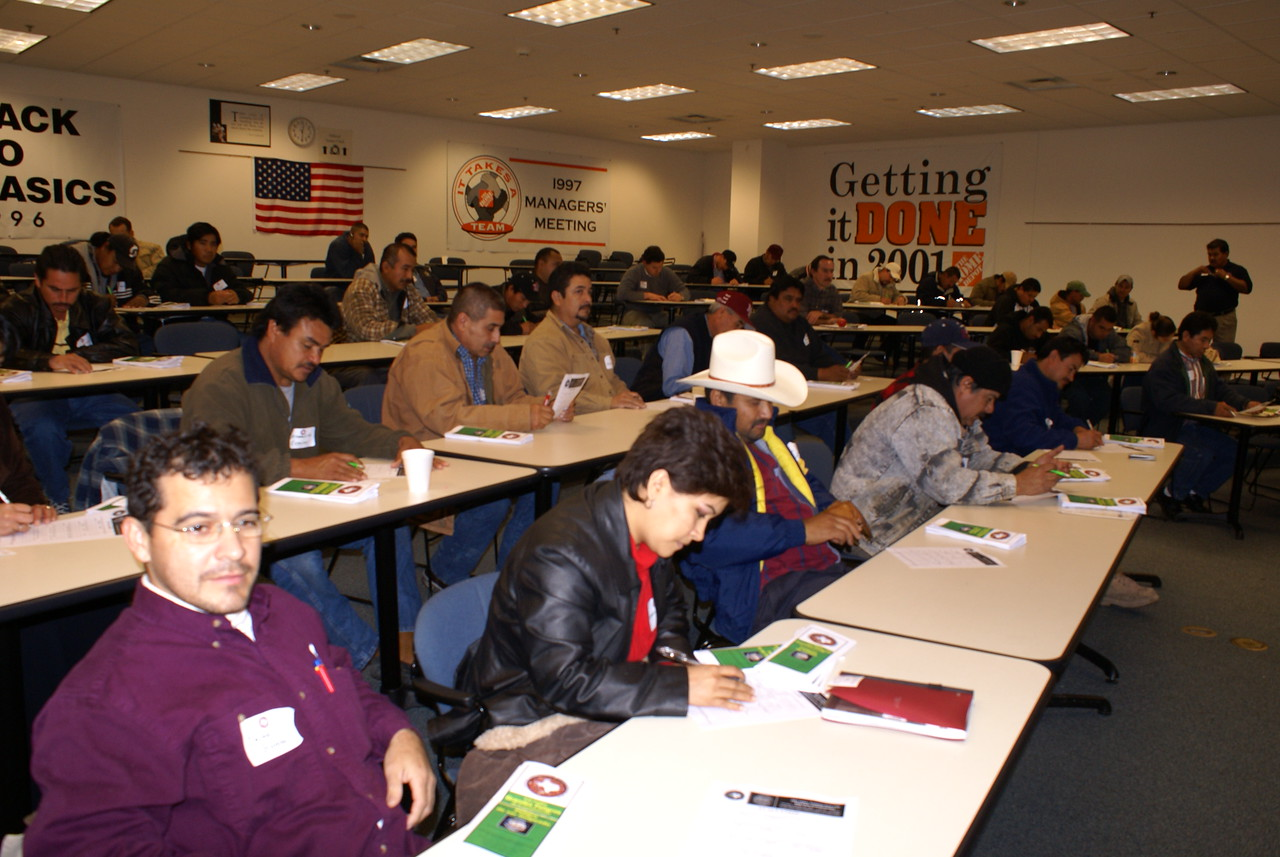 Construction Workers Attend HCADFW Training