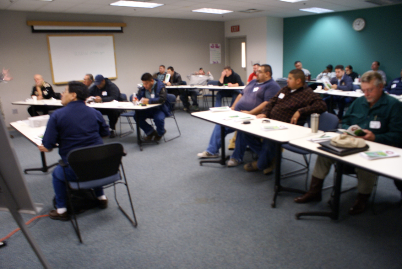 Second Generation of Members - Tomas Reyes's (HCADFW Founding Member) son attends training