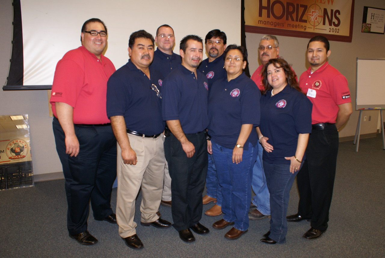 Special in to our volunteer Trainers (in blue) and the HCADFW Personnel (in Red)