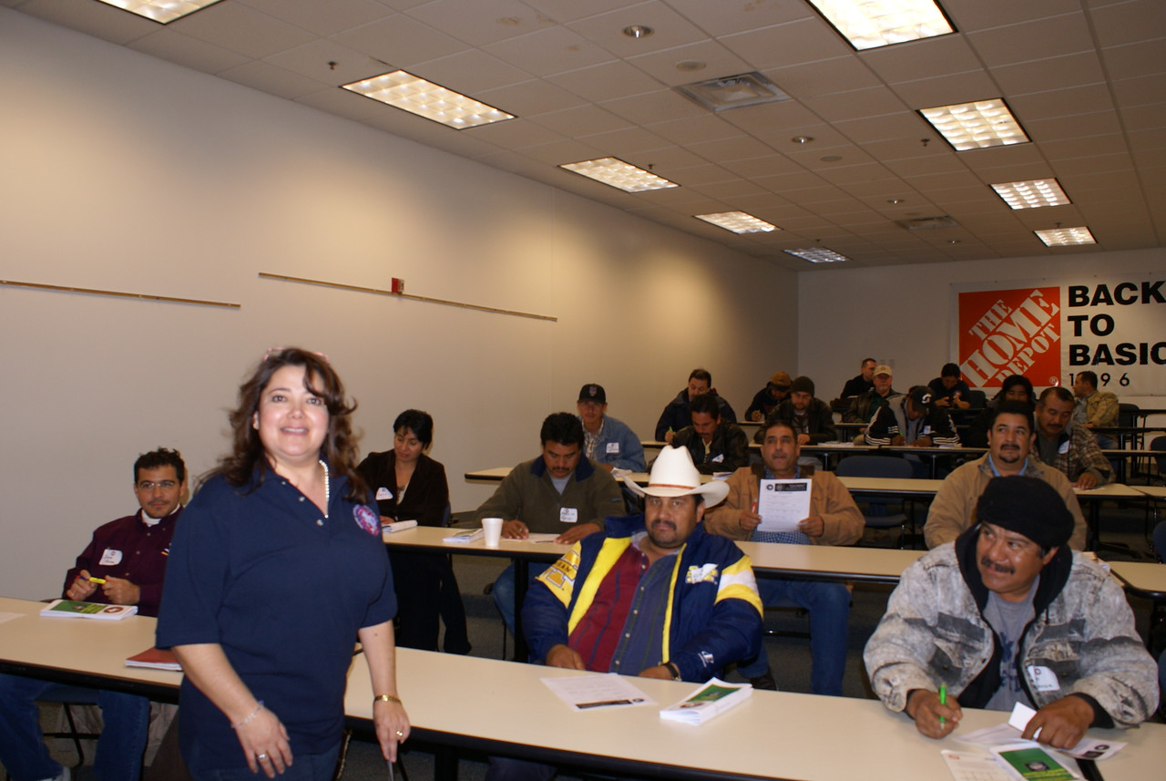 Thank you to Dr. Martha Quiroz -Romero for volunteering and teaching a HCADFW Safety Class