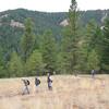 Climbing to Starvation Ridge