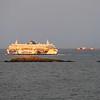 Sunlit Ferry