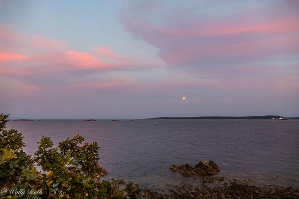 Peek-a-boo Moonrise