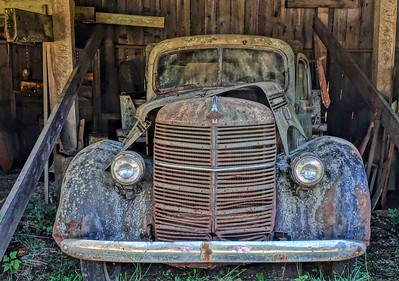 Old Car-Mclean Mill
