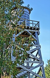 Water Tower-Mclean Mill