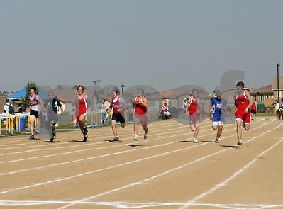 Big Sky Meet, Boy's Track Events, @Woodcrest Christian, 04/10/08