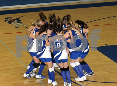 Varsity Volleyball, Excelsior Education Center @ HCS, 10/28/08
