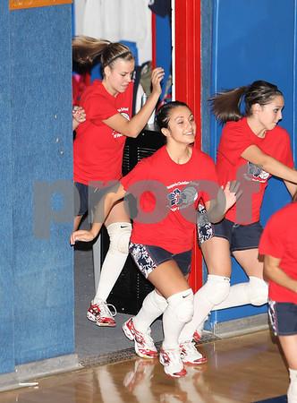 Varsity Volleyball, Mesa Grande @ HCS, 9/30/08