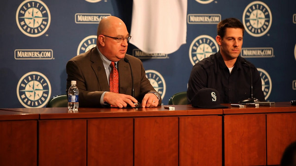 Seattle Mariners introduce Cliff Lee to the media 01-22-2010