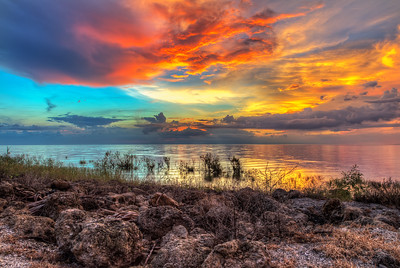 Lake Okeechobee Sunset (HDR)
