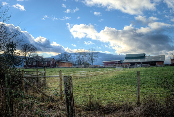 Farm - Cowichan Valley BC Canada