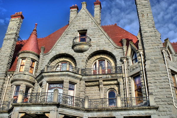 Craigdarroch Castle, Victoria, BC, Canada