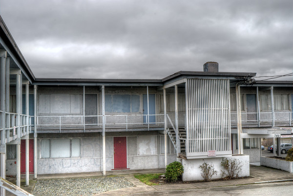 Holiday Court Motel - Victoria, BC, Canada