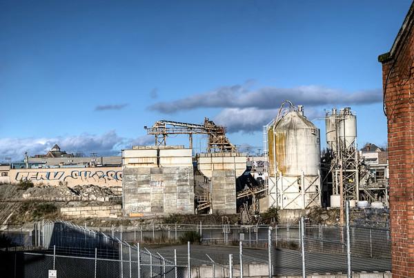 Industrial Complex - Store St. - Victoria BC Canada