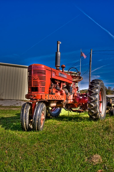 The old SkyRanch Tractor