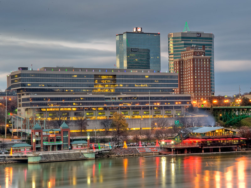 HDR Images of Knoxville Tennessee