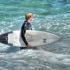 Surfer in HDR