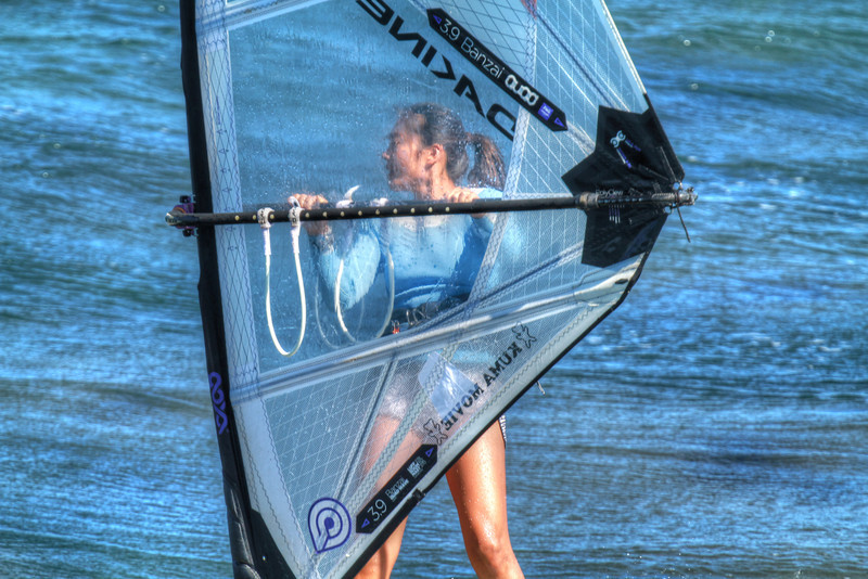 WINDSURFING IN HDR