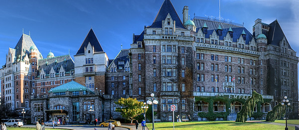 "Empress Hotel - Victoria BC Canada Visit ""The Toad Meets An Empress"" for the story behind the photo."