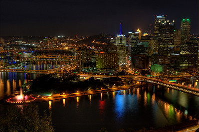 Pittsburgh, PA, from Grandview Avenue