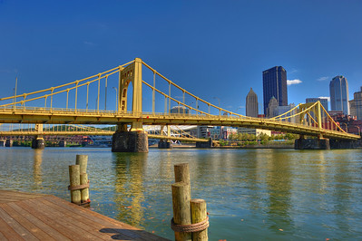 Pittsburgh, PA, 7th Street Bridge