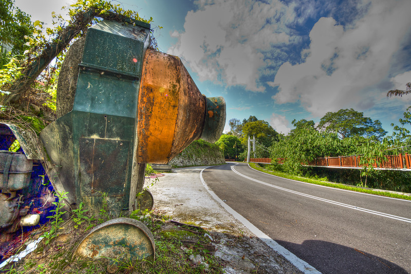 The Cement Mixer @ the Gap Frasers Hill Malaysia