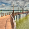 Walkway at Lower Seletar Resevoir Singapore