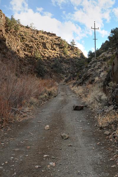 Del Monte Canyon Nevada