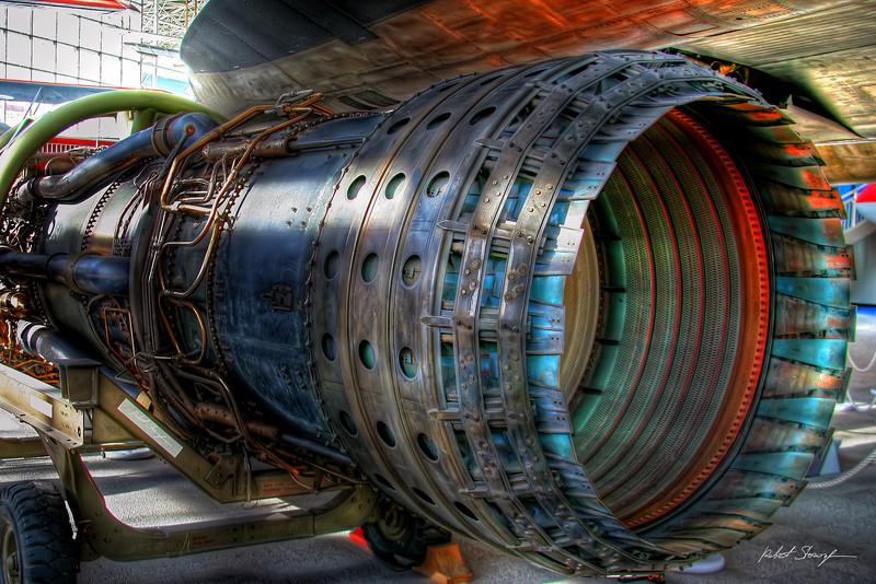 Pratt & Whitney Jet Engine (HDR)