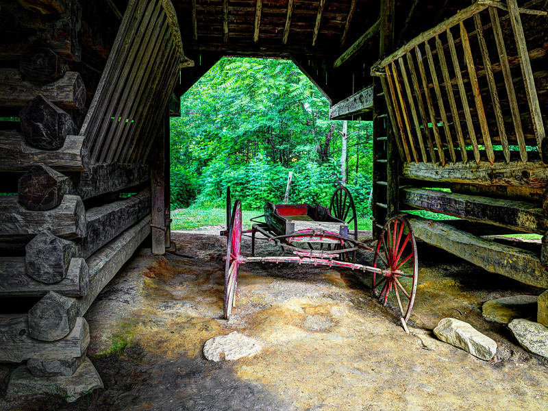 2016 06 30 Cades Cove HDR Houses DSC_8535_6_9_Surreal 2