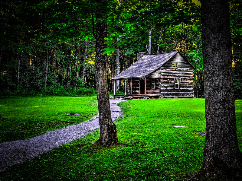 2016 06 30 Cades Cove HDR Houses DSC_8672_3_6_JEP Test #4